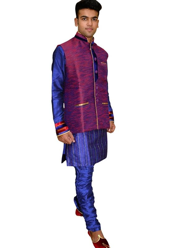 Swatantra Kurta Payjama with jacket