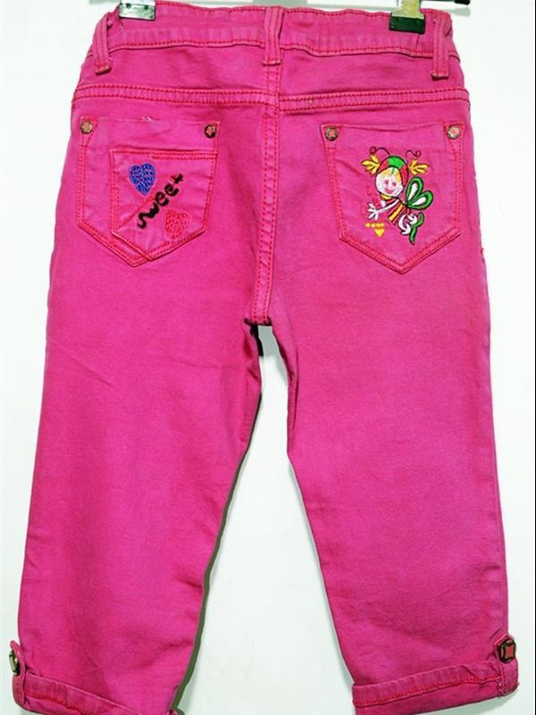 Girl's cotton capri