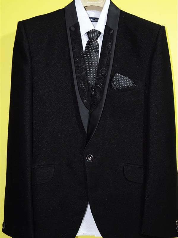 Gold coin party wear suit