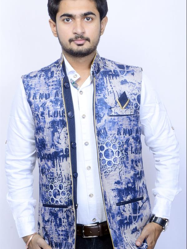Chief style reversible printed jacket