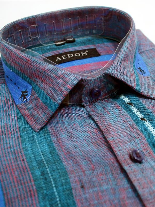Aedon pure linen party wear shirt
