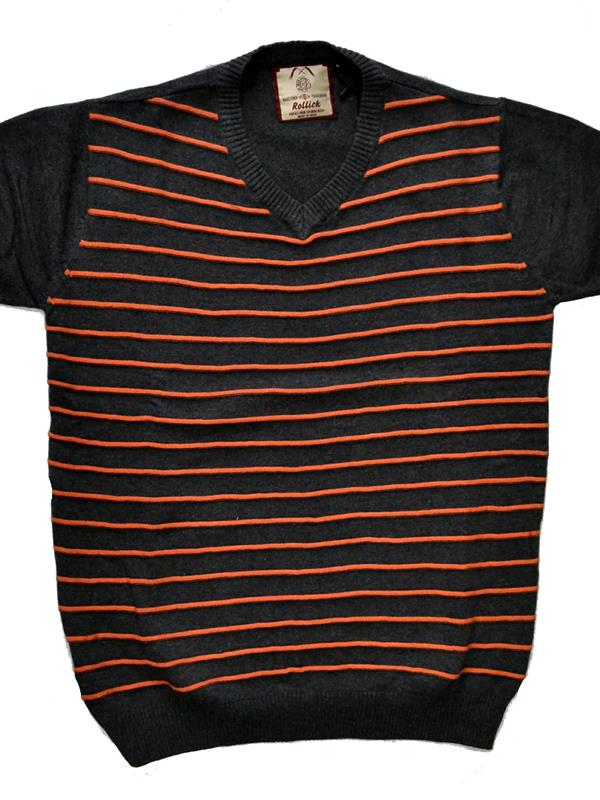 Rollick knitted cotton T-shirt