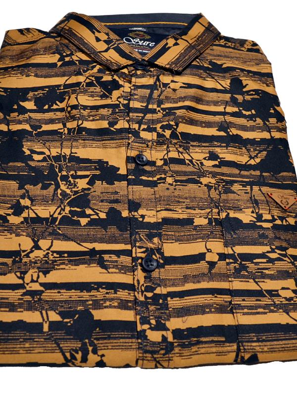 Sanskar casual printed cotton shirt
