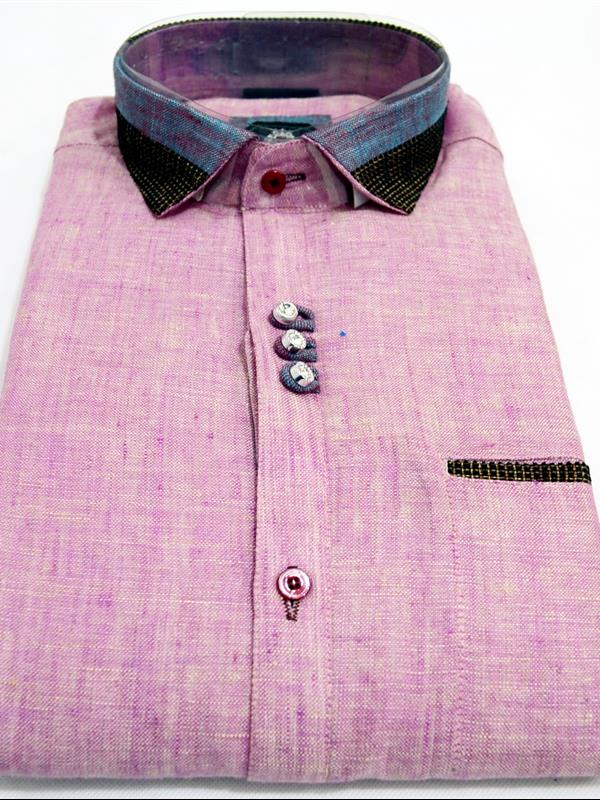 T lounge pure linen party wear shirt